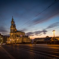 Дворцовая церковь Дрездена. :: nataliya korchma