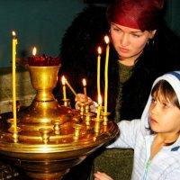 Первая свеча :: Olenka