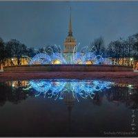 Новогодний фонтан :: Tajmer Aleksandr