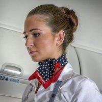 Стюардесса :: Татьяна Симонова