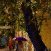 Девушка под зонтом :: Станислав Лебединский