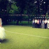 Свадебное пенальти :: Светлана Исакова