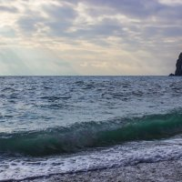 море бутылочного цвета :: Sergey Bagach
