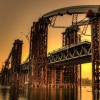 футуристический мост :: Никон Савельев