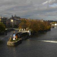 Прага. Вид на Влтаву. :: Олег Козлов