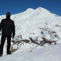 Вид Эльбруса с Чегета :: Александр Мо