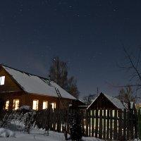 Ночь. Соседский дом. :: Никита Филатов