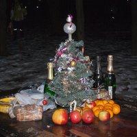 Новогодний натюрморт. :: Яков Реймер