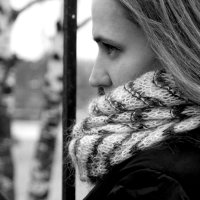 Черно-белая :: Анна