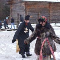 На святочных игрищах :: Татьяна Копосова
