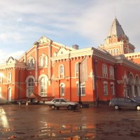 железнодорожный вокзал :: Александр Трофименко