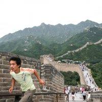 Китай. Пекин. Великая китайская стена. Гонец. :: Лариса Фёдорова