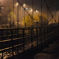 висячий мост :: Ник Карелин