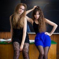 Полина и Катя :: Сергей Савченко