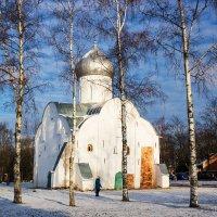 Церковь св. Власия, 11-14 век, ВНовгород :: Евгений Никифоров