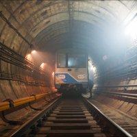 Задымление в тоннеле метрополитена :: Георгий Ланчевский