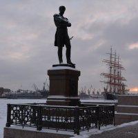 Памятник адмиралу Крузенштерну. :: Ирина Михайловна