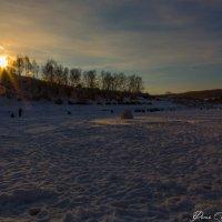 Зимний закат :: Сергей Винтовкин
