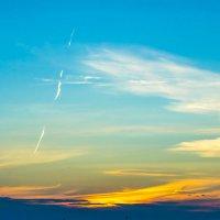 Облако заката :: юрий Амосов