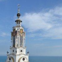 Храм-маяк Святителя Николая Мерликийского в Крыму :: Борис Русаков