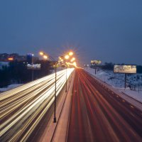 Артерии города(Мкад фото1) :: Александр Лебедев