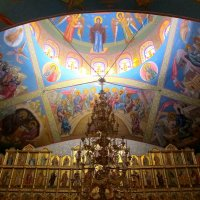 Купол храма Рождества Христова :: Нина северянка