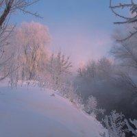 Морозный рассвет :: Олег Самотохин