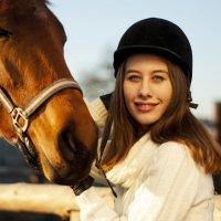 общение с лошадью :: Анатолий Еванков