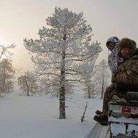 А нам и не холодно! :: Сергей