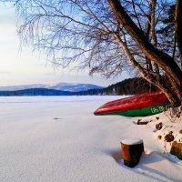 Зимний причал :: Светлана Игнатьева