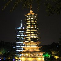 Китай. Ночной Гуйлинь. :: Виктория