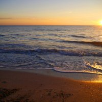 закат в Каламитском заливе :: Андрей Козлов