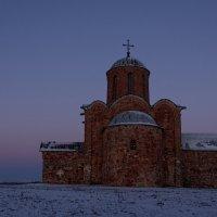 Крещенское утро. :: Evgeniy Kalinin