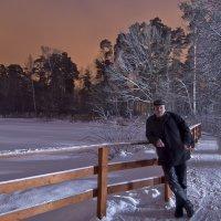 Автопортрет на ночной прогулке :: Николай