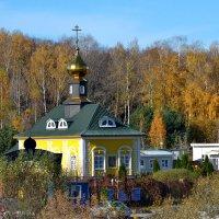 Церковь у кладбища :: Борис Русаков