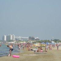 Анапа. Пляж. :: Олег Афанасьевич Сергеев