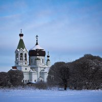 Храм во имя Св. Серафима Саровского :: Олег Лебедев