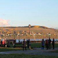 остров на закате :: Надежда Махотина
