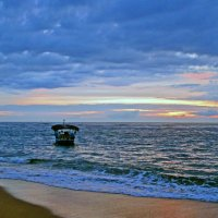 Вечер у Индийского океана №2 :: Валентина Потулова