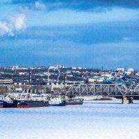 река Самара зима 14 года :: Арсений Корицкий