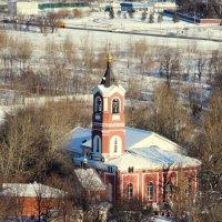 Церковь Троицы Живоначальной в Борисове :: Александр Качалин