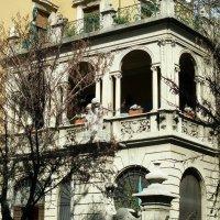 Романтический балкон. Бергамо. Италия. :: Ирина