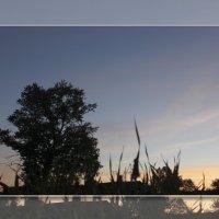 Вечереет.Закатное небо в деревне..._2012 :: Артём Бояринцев