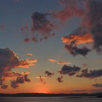 рассвет над бухтой Киссамос :: Алексей Меринов