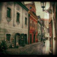Рождественская улочка Чешского Крумлова :: Jozhеg Tumanov ( Serg F) Serg F
