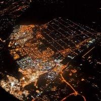 Ночной Каир с борта самолета. (2 вариант) :: ViP_ Photographer