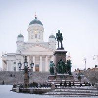 Сенатская площадь, Хельсинки. :: Дина Нестерова