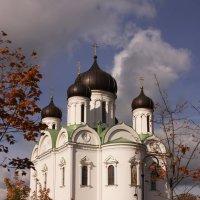 Храм в Пушкине....купола золотят :: Наталья