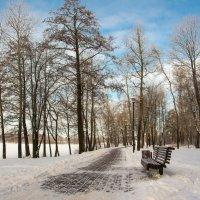 Зимняя скамейка :: Людмила Шатова