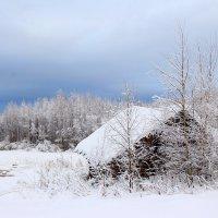 Деревня Рубчейла в Карелии :: Алена Шпинатова